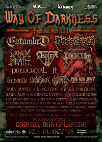 Way Of Darkness Festival